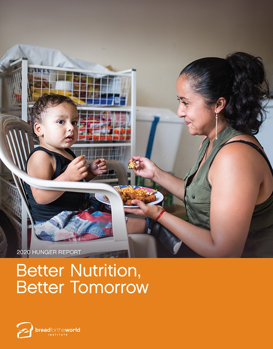 2020 Hunger Report, Better Nutrition, Better Tomorrow
