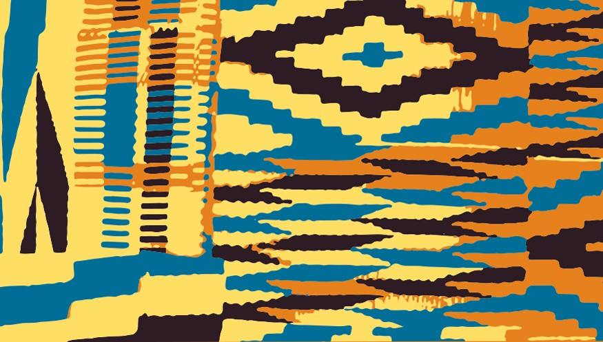 Kente Cloth. Design by Doug Puller / Bread for the World