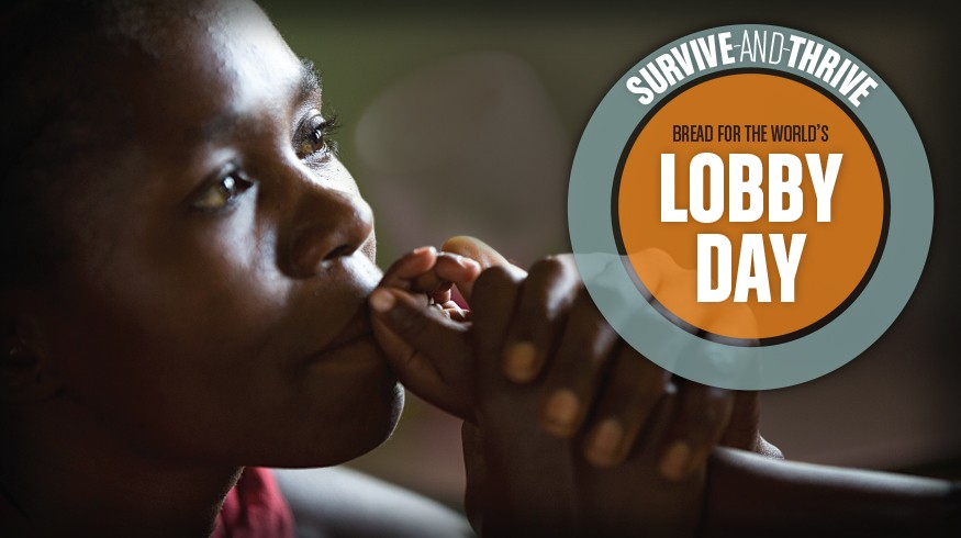 Come to Lobby Day, June 7 in Washington, D.C. Photo by Joe Molieri / Bread for the World