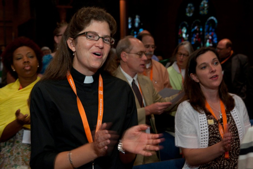 Bread believes that it is the moral calling of Christians to be politically engaged. Photo: Laura Pohl / Bread for the World