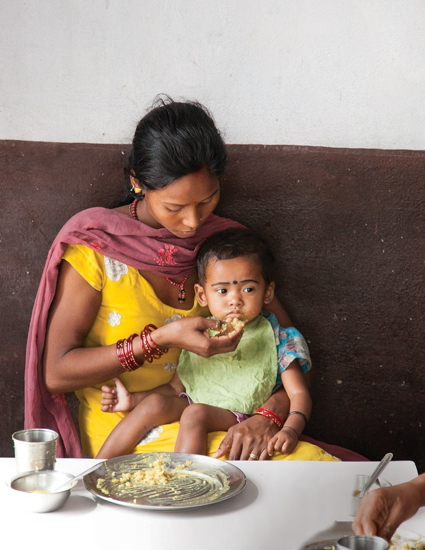 Nutrition Rehabilitation Home in Dhangadhi, Nepal. Laura Elizabeth Pohl for Bread for the World