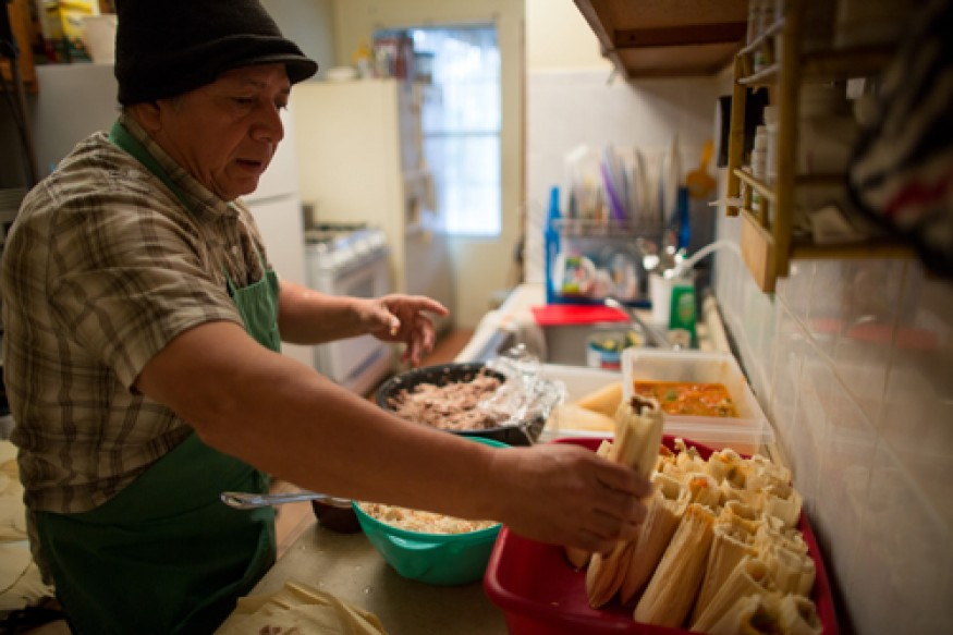Many Americans age 65 and over want to be enjoying their retirement. Instead, many struggle because of food insecurity. Photo: Joe Molieri/Bread for the World