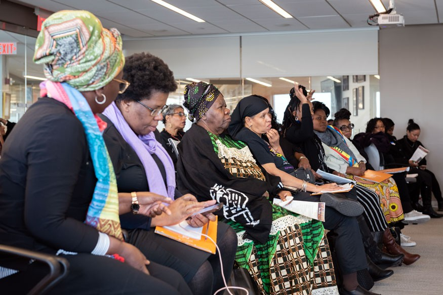 Women from the U.S. and abroad take part in three-day Pan African Women of Faith Summit.  Howard Wilson for Bread for the World.