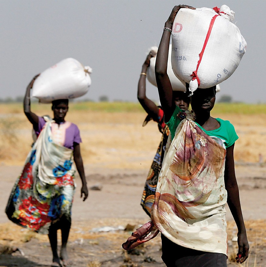 In February 2018, the UN Food and Agriculture Organization (FAO) warned that famine was again imminent in South Sudan. Photo: UNICEF / Modola