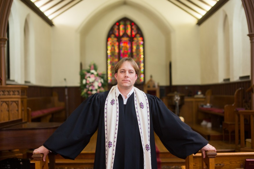 Rev. Seth Kaper-Dale is senior co-pastor at the Reformed Church of Highland Park in New Jersey, which houses the NeighborCorps program. Joseph Molieri/Bread for the World.