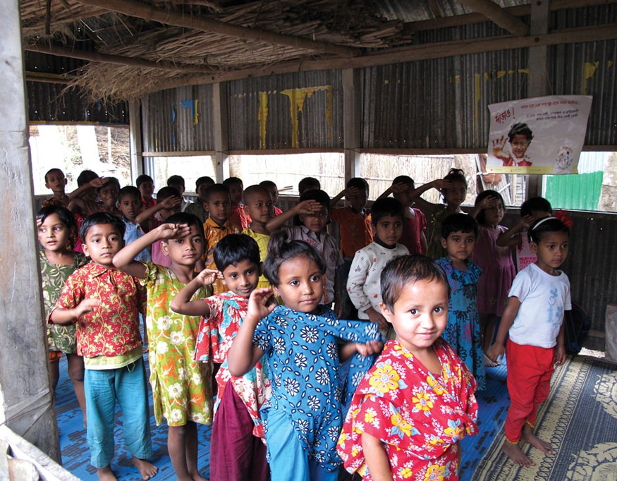 Early childhood education in Bangladesh. Photo: Todd Post / Bread for the World