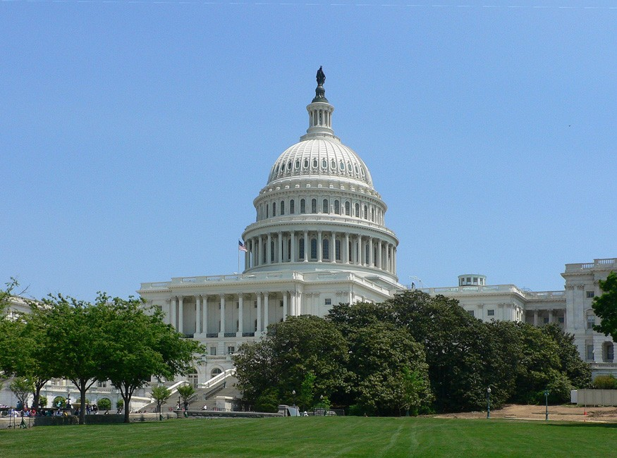 U.S. Capitol Building. Credit: Wikimedia Commons