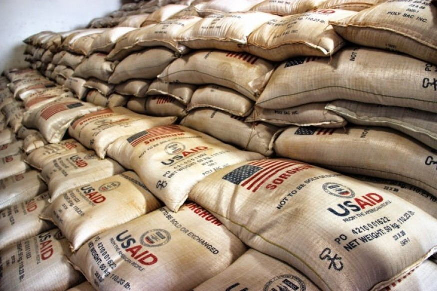 US Food Aid Bound for Sudan. Photo: USAID