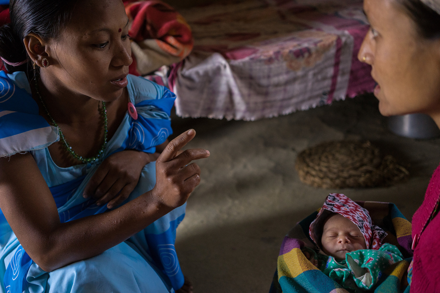 Bread's main campaign in 2016 is focusing on the nutrition and health of mothers and children around the world.  Photo: USAID